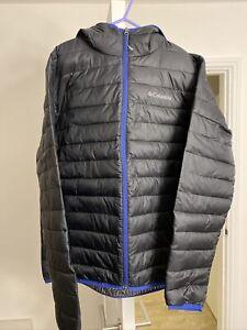 Columbia Padded Jacket Men Size L, Black