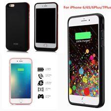 Para iPhone 6/6S// 7 6 Plus Banco de Alimentación Externo Portátil Batería Plus carga Case