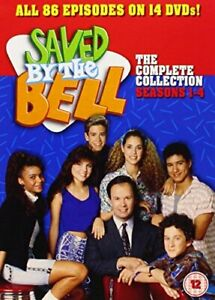 SAVED BY THE BELL SEASOSN 1 TO 4 COMPLETE COLLECTION DVD [UK] NEW DVD
