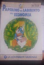 LIBRO PAPERINO NEL LABIRINTO DELL'ECONOMIA VOL 1 LA CONTABILITA' NAZIONAL 24 ORE