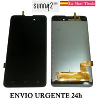 "Pantalla Completa para ""Wiko Sunny 2 Plus"" LCD + Tactil Negra Negro Display"
