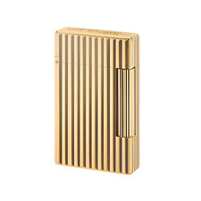 S T Dupont Initial Lines Golden Bronze finish lighter (020803)