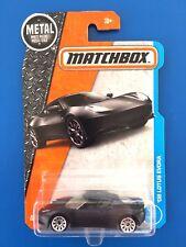 2017 Matchbox BLACK 2008 LOTUS EVORA UK luxury sports coupe mint on long card!