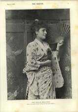 1893 Photograph Miss Phyllis Broughton Orient Express Daly Independent Theatre