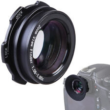1.08x-1.60x Zoom Viewfinder Eyepiece Magnifier For Canon EOS 60D 7D Nikon Sony
