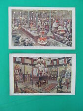 VANTINE'S ORIENTAL STORE NEW YORK CITY  -- TWO (2) Postcards  - Unposted
