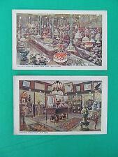 VANTINE'S ORIENTAL STORE NEW YORK CITY  -- TWO (2) Postcards  - Unposted