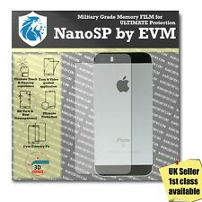Back Protector TPU Cover FILM For iPhone 5 Apple - 100% Clear