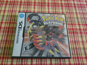 Pokemon Platinum Version - Authentic - Nintendo DS - Case / Box Only!