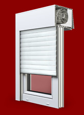 Balkontür mit Rolladen Premium Fenster Dreh /Kipp 2 oder 3 fach verglast.