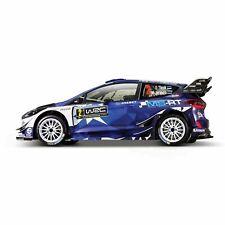 1:32 Race Ford GT Fiesta RS WRC 2017 Season #Tanak Race Car Diecast Model Toy