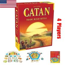 Settlers of Catan Board Game 5th Edition Party Home Games Gift 4 Players New US