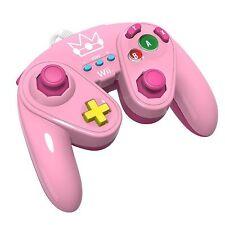 Nintendo Wii U Peach Wired Fight Pad Classic Controller PDP (Gamepad)