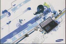 RECLAME 0122 SAMSUNG k5 mp3 portable promocard Post