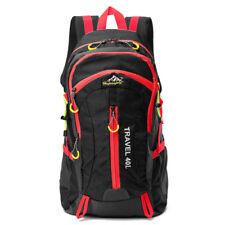 Black Mens Waterproof Backpack Rucksack Bag Sport Travel Hiking Work School UK