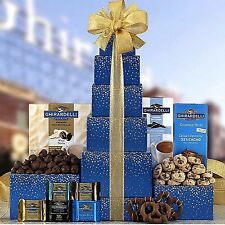 Ghirardelli Chocolate Tower Gift Basket-Valentine's Day-Mother's Day Yummy Me