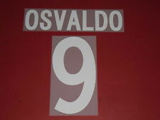 FLOCAGE OFFICIEL OSVALDO AS ROMA HOME 2012/2013