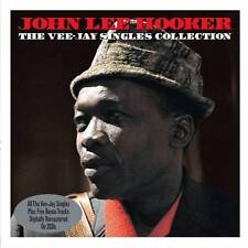 JOHN LEE HOOKER - THE VEE-JAY SINGLES COLLECTION - PLUS BONUS TRACKS (NEW 2CD)
