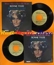 LP 45 7'' BONNIE TYLER What a way to treat my heart 1979 italy RCA (*) cd mc dvd