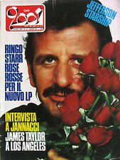 CIAO 2001 51 1981 Ringo Starr Jefferson Starship Straycats Jannacci Bow Wow Wow