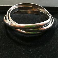 Seltenes Silber Armband Armreif 3-teilig 925er Sterling Silber