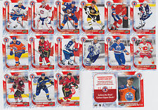 2015-16 UD NATIONAL HOCKEY CARD DAY complete SET (17 Cards) Connor McDavid