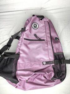 Aurorae Yoga Shoulder Sling Multi Purpose Backpack Mat Purple Bag aa75