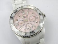 Rotary Women's Quartz Watch Ceramic Bracelet CEWBS/07/M - 200m