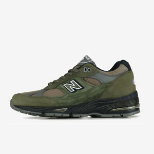 NEW BALANCE M991FDS MADE IN UK ENGLAND CARGO GREEN OLIVE BLACK 991 EKS FDS USA