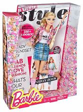 Barbie Style Floral Jacket Doll ~Brand New~