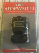 Champion All Sports Walking Running Stopwatch Timer Daily Alarm Black Brand New