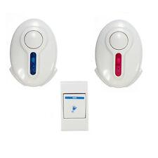 Led Wireless Door Bell - 1 Remote Control 2 Wireless digital Receiver Doorbell