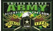 Army Defending Freedom 3 x 5 Ft Flag United States Army - New