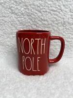 New Rae Dunn Red Glossy NORTH POLE Mug