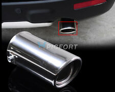 CHROME EXHAUST TRIM TAIL PIPE MUFFLER FINISHER TIP – for diameter 35mm to 65mm