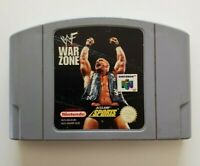 WWF War Zone Nintendo 64 Game N64 - Genuine PAL Cartridge