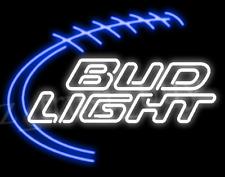 """New Bud Light  Budweiser Beer Neon Light Sign 17""""x14"""""""