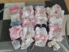 31 tlg. Baby Bekleidungspaket 56/62, Erstling, Kleidungspaket, Babypaket, Body