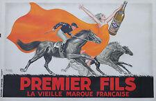 """""""PREMIER FILS"""" Affiche originale entoilée Litho ROBYS 1936"""