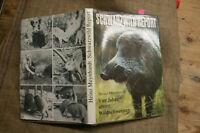 Fachbuch Wildschweine, Frischling, Eber, Sauen, Jäger, Weidmann, Suhle, DDR 1982