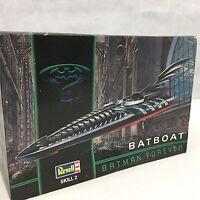 Revell Batboat Batman Forever Sealed Styrene Model Kit Skill 2 6722