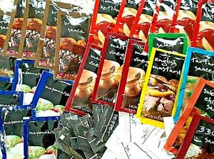 Lichfield Single Sauce Sachets Set Quantity or Pick & Mix Your Own - Free Salt!