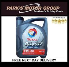 Total QUARTZ INEO MC3 5W40 Motor Engine Oil 5 Litre TOTAL UK DISTRIBUTOR Z174777