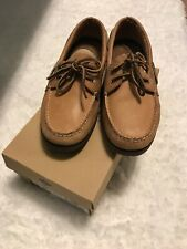 Sperry Top-Sider Authentic Original Mens Sahara Boat Shoes Tan Size 8