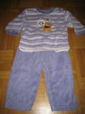 Schlafanzug Zweiteiler - Disney baby Winnie Pooh lila/rosa Frottee Gr.74!Süß!