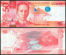 2015A NEW GENERATION Philippines 50 Pesos PNOY STARNOTE / Replacement  Banknote