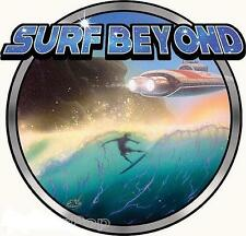 Surf Beyond STICKER Decal Dirty Donny Future Wave Surfer Space Ship DD74