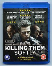 New KILLING THEM SOFTLY  UK Region B Blu-Ray BRAD PITT Ray Liotta BLURAY Blu Ray