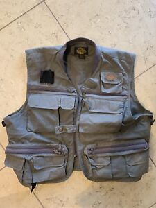 White River Fly Fishing Vest Muddy Brown size XL