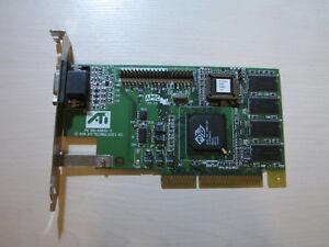 Ati Rage 3D PRO Turbo AGP 8MB VGA Video card (PN: 109-49800-11) TEST OK!